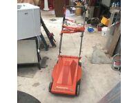Electric lawnmower- Husqvarna