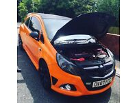 Corsa Vxr orange logged as 1.2 low millage