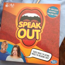 Brand new game SPEAK OUT