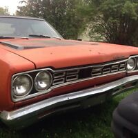 Numbers matching 68 383 road runner post car