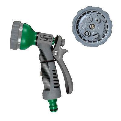 Multi Function Garden Plant Flower 6 Dial Hose Pipe Sprayer Gun Nozzle Sprinkler