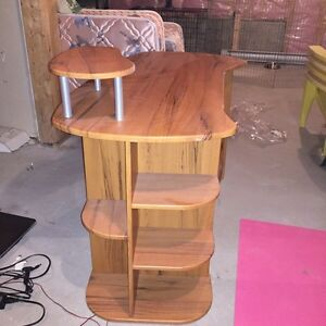 Solid Wood Desk - excellent condition St. John's Newfoundland image 2