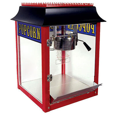 Paragon 1911 Style 6 Ounce Popcorn Machine Red Made In Usa