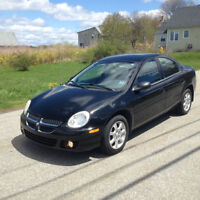 2004 DODGE NEON SX SEDAN  4 CYL AUTO ONLY 77000 KMS