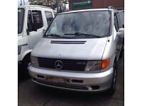 LEFT HAND DRIVE Mercedes Benz Vito