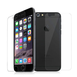 Crystal Clear Screen Protector Front & Back for iPhone 5 6 6+ Regina Regina Area image 1