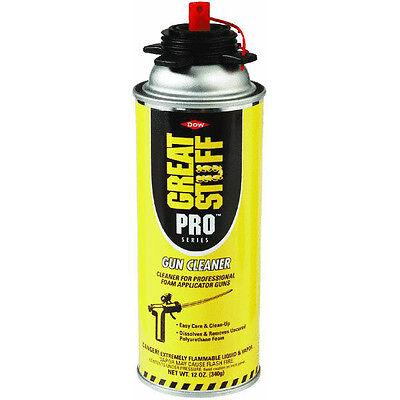 6pk Great Stuff Pro Foam Series Tool Applicator Gun Cleaner Can