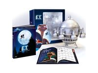 **Brand New Sealed E.T. The Extra-Terrestrial - Limited Edition Spaceship (Blu-ray)**
