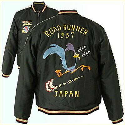 Sukajan Tailor Toyo Japanese Pattern souvenir jacket reversible ROAD RUNNER