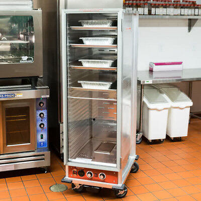 New Full Size Non-insulated Nsf Heated Holding Proofing Cabinet W Clear Door