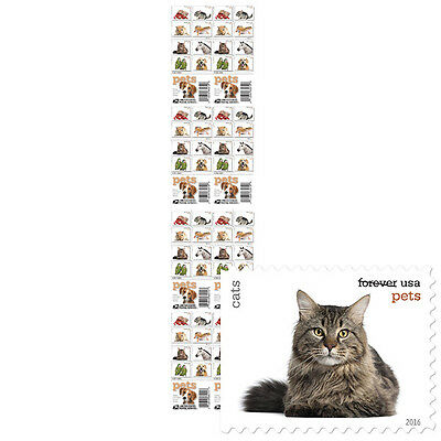 USPS New Pets Press Sheet with Die Cuts