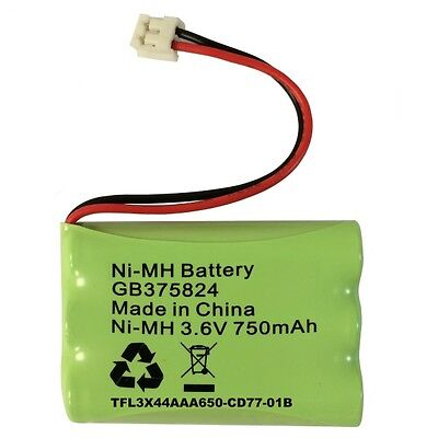 Motorola TFL3X44AAA650-CD77-01B Baby Monitor Battery Pack NiMh 3.6V 750mAh UK