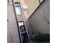 Triple extension ladder £200
