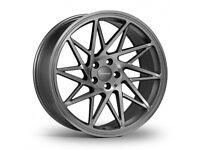 "19"" Veemann FS-35 GMF Alloy Wheels.Suit Audi A3,VW Caddy,Golf,Jetta, Passat,Seat Leon 5x112"