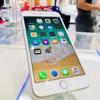 MINT CONDITION IPHONE 8 PLUS 256GB SILVER TAX INVOICE APPLE WRTY