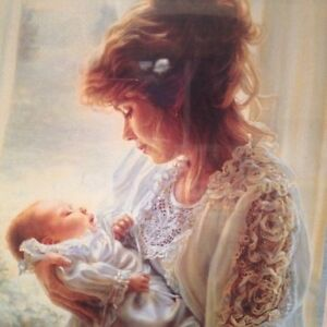 Beautiful mother and baby picture