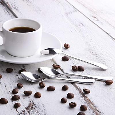 Demitasse Espresso Spoons (Demitasse Spoons Set of 12 Tea Coffee Espresso Stainless Steel Small)