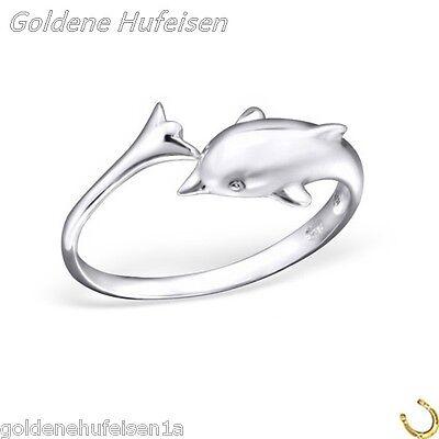 ZEHENRING Delfin / Delphin 925 Echt Silber Zehring Top Geschenkidee / 503