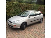 Ford Focus 1.6 LX 2001 Silver Manual