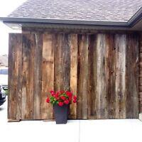 Barn Board backdrop for rent!