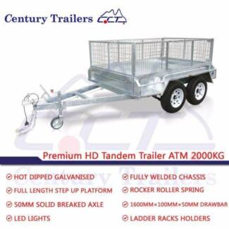 CENTURY TRAILERS - 10x6 Tandem Trailer ATM 2000kg