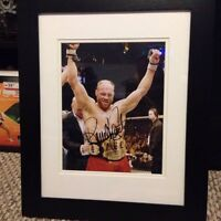 UFC Randy Couture Signed Photo