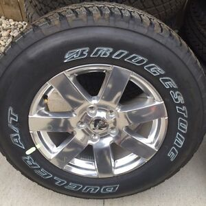 Brand new jeep jk wheels and tires off 2016 wrangler