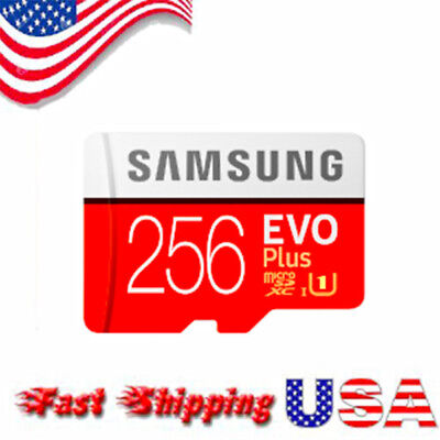 60% OFF - 256GB EVO Plus Advanced Performance Micro SDXC Memory Card UHS-I