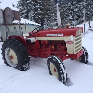 RARE !!!! 340 international utility tractor