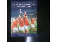 Footballs greatest matches DVD