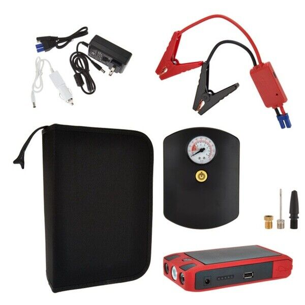 Halo Que Boost Car Jump Starter with Air Compressor and USB