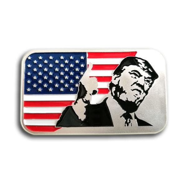 1 oz .999 Fine Silver Bar Bullion / Trump   SB1J9