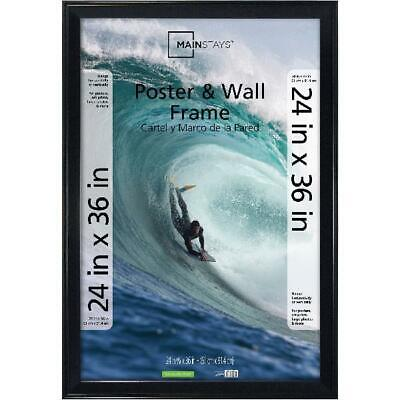 poster and picture frame 24x36 black