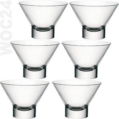 6 Eisbecher Dessertschalen Eisschalen Eisschale Eisgläser Eis Glas Moderno