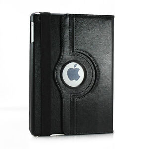 NEW BLACK 360 ROTATING PU LEATHER CASE COVER STAND FOR IPAD AIR Regina Regina Area image 6