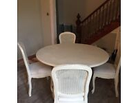 Table and chairs- need upcycle