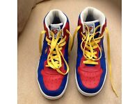 Superman high top trainers