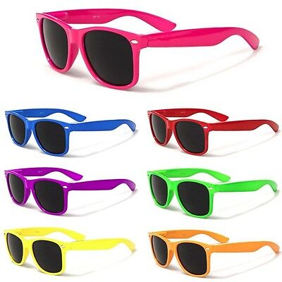 Neon Men Women Sunglasses Retro Vintage Fashion Glasses - Inexpensive Sunglasses