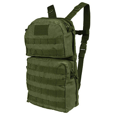 Condor Hcb2 Od Green Molle Hydration Pack Backpack W  2 5L Bladder Included