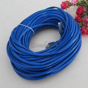 NEW 30M 100FT RJ45 CAT5e Ethernet LAN Cable