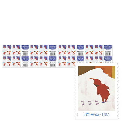 USPS New The Snowy Day Press Sheet with Die Cuts