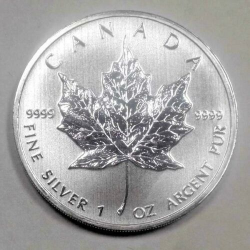 2013 MAPLE LEAVE 5 DOLLAR PROOF COIN 1 OZ .9999 FINE PURE SILVER CANADIAN MINT