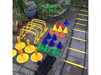 Rugby SAQ agility set + TAG Rugby Tots bands