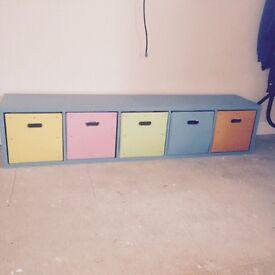 Selection of aspace bedroom furniture draws / bedside cabinet