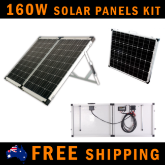 QUICK SALE! 160W Folding Solar Panels for Camping with regulator