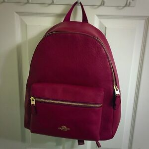Authentic COACH BNWT backpack AND matching wristlet!  Kitchener / Waterloo Kitchener Area image 1