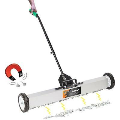 36 Magnetic Pick-up Garage Sweeper Work Shop Showroom Floor Carpentry Tool