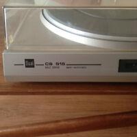 Dual CS 515 Vintage Turntable