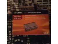 D-Link brand new 6 slot USB Hub