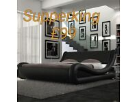 X display supperking size bed frame